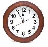 Часы стены Стоковая Фотография RF