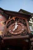 Часы с кукушкой Triberg Стоковые Изображения RF