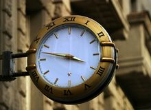 часы улицы Стоковые Изображения RF