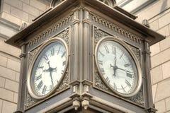 Часы улицы Стоковая Фотография RF