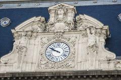 Часы фасада Стоковые Фото
