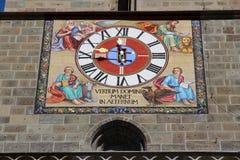 Часы церков стоковые изображения rf
