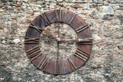 Часы церков Стоковое Фото