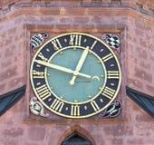 Часы церков Стоковая Фотография RF