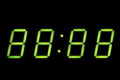 часы цифровые Стоковая Фотография