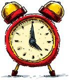 часы шаржа Стоковые Фотографии RF