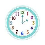 Часы для детей иллюстрация вектора