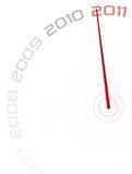 часы 2011 Стоковые Фотографии RF