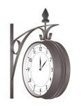 часы иллюстрация вектора