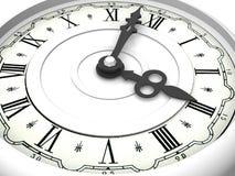 Часы. 3 часа стоковое фото