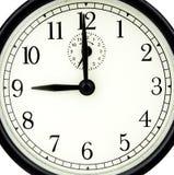 часы 9 стоковая фотография rf