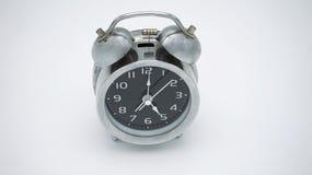 Часы allarm хрома винтажные Стоковое Изображение