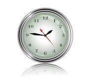 Часы 3d металла красоты бесплатная иллюстрация