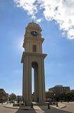 Часы Dubuque Айова городка Стоковая Фотография RF