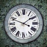 часы grungy Стоковое Изображение