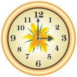 часы lilly Стоковое фото RF