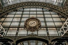Часы Musee d'Orsay Стоковые Фотографии RF