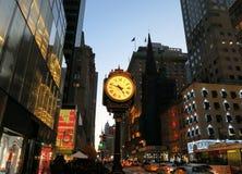 Часы NYC Стоковое Фото