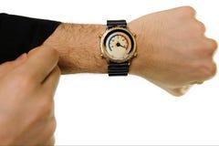 часы o celsius Стоковое фото RF