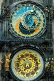 часы prague Стоковая Фотография RF