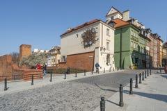 Часы Sigismund в Варшаве стоковые изображения rf