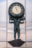 Часы Tiffanys в Чiкаго Стоковое Изображение