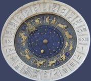 часы venetian Стоковая Фотография