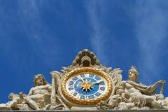 часы versailles Стоковое Изображение RF