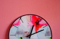 Часы Watercolour Стоковая Фотография