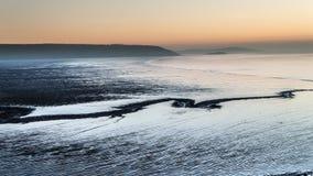 Час залива песка золотой Стоковая Фотография RF