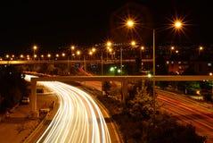 Час пик на шоссе Стоковое фото RF