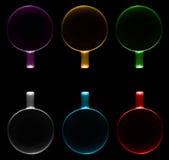 6 чашек других цветов Стоковое Изображение