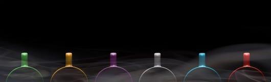 6 чашек других цветов Стоковое Изображение RF