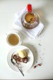 Чашек чаю с чайником Стоковое фото RF