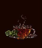 Чашек чаю стоковое изображение