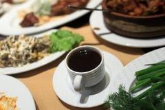 Чашка армянского кофе стоковая фотография