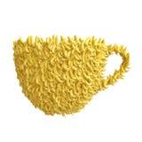 Чашка бананов Стоковое Фото