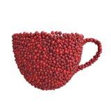 Чашка вишен Стоковое фото RF