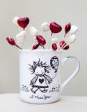 Чашка влюбленности стоковое изображение rf