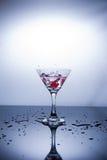 Чашка водочки на белой предпосылке стоковые фото