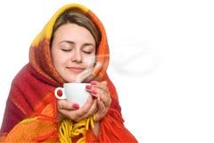 Чашка горячего напитка стоковые изображения