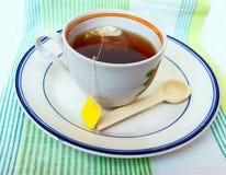 Чашка горячего чая стоковые фотографии rf