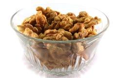 Чашка грецких орехов Стоковые Фотографии RF