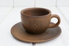 Чашка глины Стоковая Фотография RF