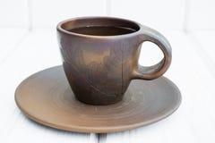 Чашка глины Стоковые Изображения RF