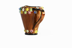 Чашка глины Artigiani Стоковое Изображение