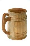 чашка деревянная Стоковые Изображения RF