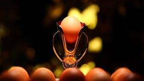 Чашка золота яйца никто отснятый видеоматериал hd акции видеоматериалы