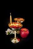 Чашка золота Стоковая Фотография