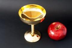 Чашка золота Стоковые Изображения RF